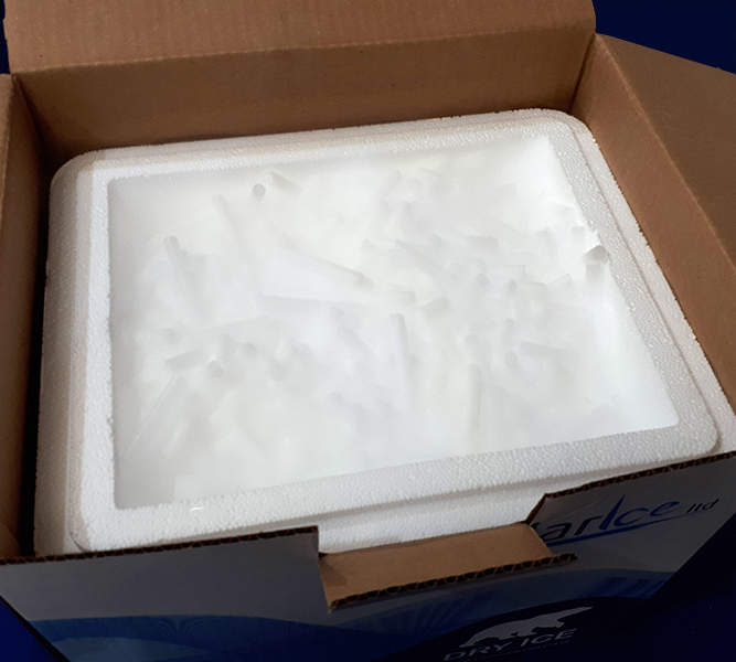 10kg box of dry ice pellets