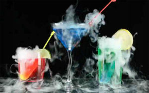 Image of cocktails with MistyStix
