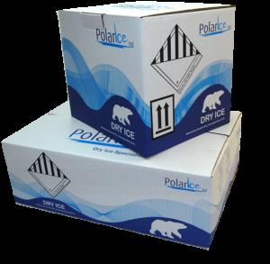 Dry Ice Storage Cartons