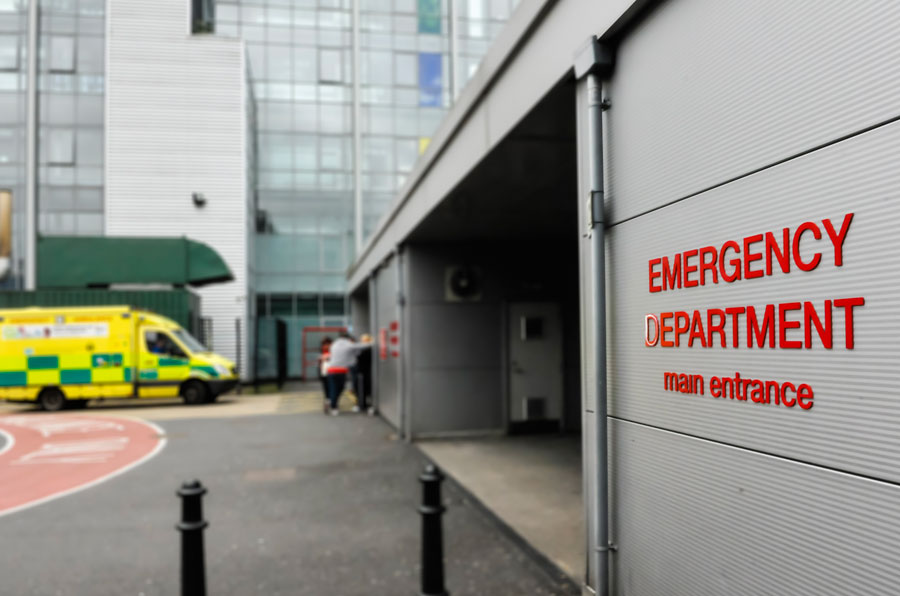 Accident & Emergency Hospital  Entrance