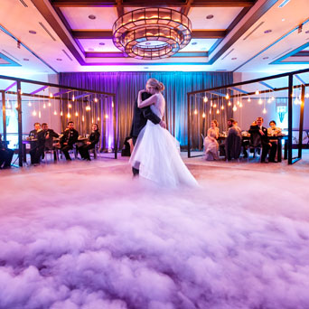 First Dance Dry Ice Fog Effect